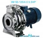 Máy bơm ly tâm trục ngang đầu inox 3M 50-125/3.0 4HP