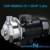 Máy bơm ly tâm trục ngang CNP-MS60/0.75-1HP 3 pha