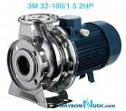 Máy bơm ly tâm trục ngang đầu inox 3M 32-160/1.5 2HP